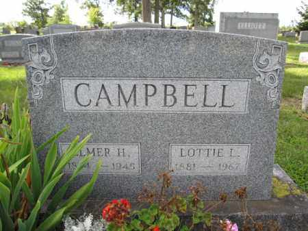 CAMPBELL, LOTTIE L. - Union County, Ohio | LOTTIE L. CAMPBELL - Ohio Gravestone Photos