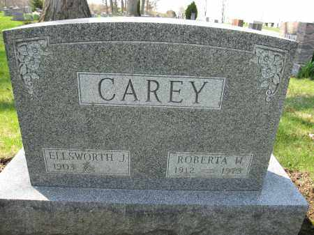 CAREY, ROBERTA W. - Union County, Ohio | ROBERTA W. CAREY - Ohio Gravestone Photos
