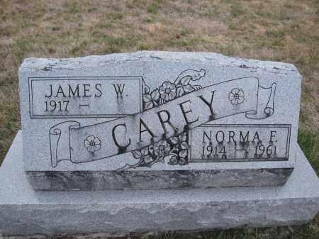 CAREY, NORMA F. - Union County, Ohio | NORMA F. CAREY - Ohio Gravestone Photos