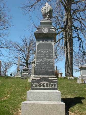 CARPENTER, SARAH A. - Union County, Ohio | SARAH A. CARPENTER - Ohio Gravestone Photos