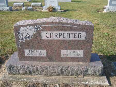 CARPENTER, EDNA B. - Union County, Ohio | EDNA B. CARPENTER - Ohio Gravestone Photos