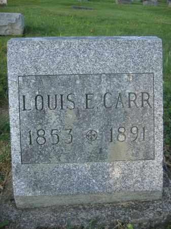CARR, LOUIS E. - Union County, Ohio | LOUIS E. CARR - Ohio Gravestone Photos