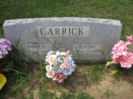CARRICK, R. EARL - Union County, Ohio | R. EARL CARRICK - Ohio Gravestone Photos