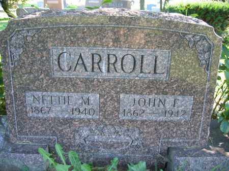 CARROLL, NETTIE M. - Union County, Ohio | NETTIE M. CARROLL - Ohio Gravestone Photos