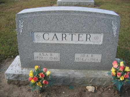 CARTER, ASA B. - Union County, Ohio | ASA B. CARTER - Ohio Gravestone Photos