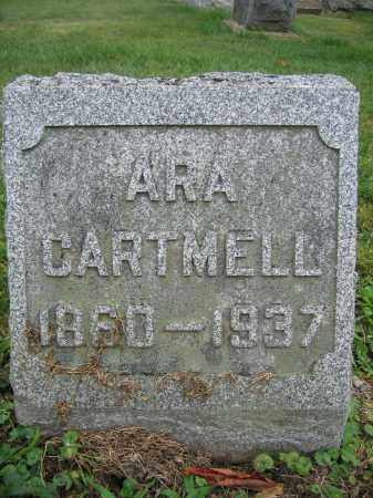 CARTMELL, ARA - Union County, Ohio | ARA CARTMELL - Ohio Gravestone Photos