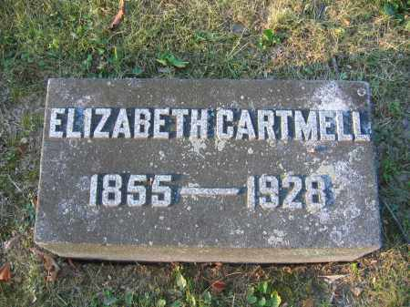 CARTMELL, ELIZABETH - Union County, Ohio | ELIZABETH CARTMELL - Ohio Gravestone Photos