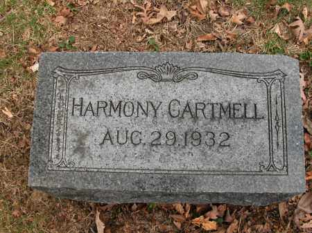 CARTMELL, HARMONY - Union County, Ohio | HARMONY CARTMELL - Ohio Gravestone Photos