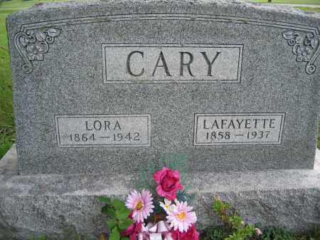 CARY, LAFAYETTE - Union County, Ohio | LAFAYETTE CARY - Ohio Gravestone Photos