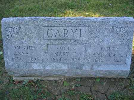 CARYL, ANDREW L. - Union County, Ohio | ANDREW L. CARYL - Ohio Gravestone Photos