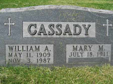 CASSADY, MARY M. - Union County, Ohio | MARY M. CASSADY - Ohio Gravestone Photos