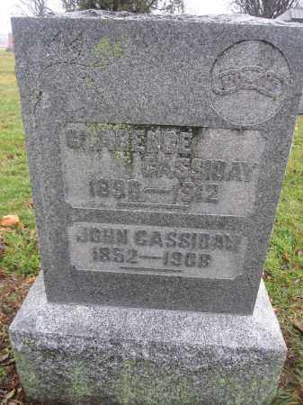CASSIDAY, CLARENCE - Union County, Ohio | CLARENCE CASSIDAY - Ohio Gravestone Photos