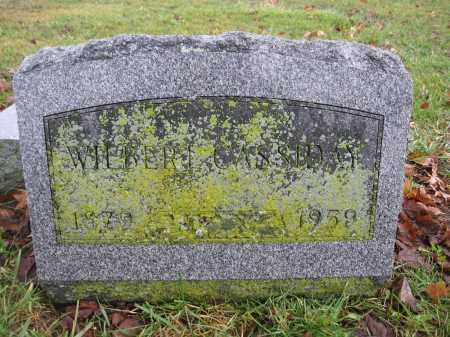 CASSIDAY, WILBERT - Union County, Ohio | WILBERT CASSIDAY - Ohio Gravestone Photos