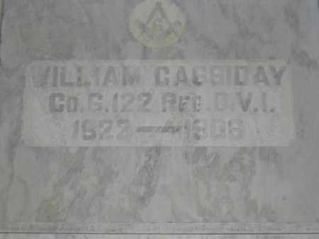 CASSIDAY, WILLIAM - Union County, Ohio | WILLIAM CASSIDAY - Ohio Gravestone Photos