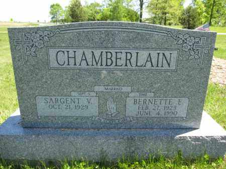 CHAMBERLAIN, BERNETTE E. - Union County, Ohio | BERNETTE E. CHAMBERLAIN - Ohio Gravestone Photos