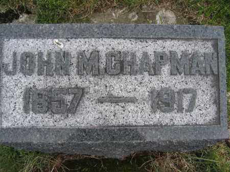CHAPMAN, JOHN M. - Union County, Ohio | JOHN M. CHAPMAN - Ohio Gravestone Photos