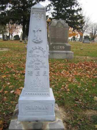 CHAPMAN, MIANDA - Union County, Ohio   MIANDA CHAPMAN - Ohio Gravestone Photos