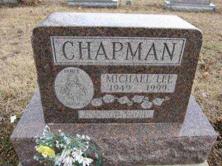 CHAPMAN, MICHAEL LEE - Union County, Ohio | MICHAEL LEE CHAPMAN - Ohio Gravestone Photos