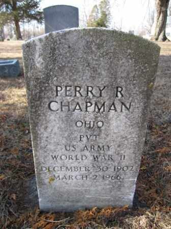 CHAPMAN, PERRY R. - Union County, Ohio | PERRY R. CHAPMAN - Ohio Gravestone Photos