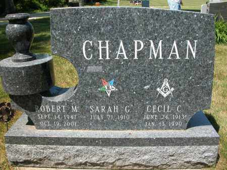 CHAPMAN, CECIL C. - Union County, Ohio | CECIL C. CHAPMAN - Ohio Gravestone Photos