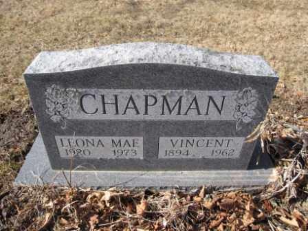 CHAPMAN, LEONA MAE - Union County, Ohio | LEONA MAE CHAPMAN - Ohio Gravestone Photos