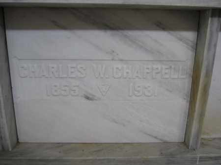 CHAPPELL, CHARLES W. - Union County, Ohio | CHARLES W. CHAPPELL - Ohio Gravestone Photos