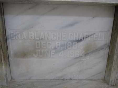 CHAPPELL, ORA BLANCHE - Union County, Ohio | ORA BLANCHE CHAPPELL - Ohio Gravestone Photos