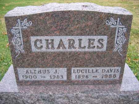 CHARLES, LUCILLE DAVIS - Union County, Ohio | LUCILLE DAVIS CHARLES - Ohio Gravestone Photos