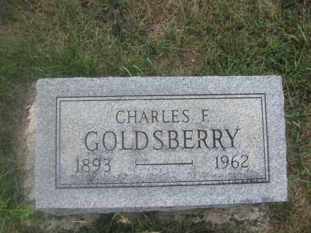 CHARLES F., GOLDSBERRY - Union County, Ohio | GOLDSBERRY CHARLES F. - Ohio Gravestone Photos