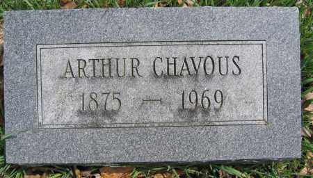 CHAVOUS, ARTHUR - Union County, Ohio | ARTHUR CHAVOUS - Ohio Gravestone Photos