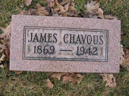 CHAVOUS, JAMES - Union County, Ohio | JAMES CHAVOUS - Ohio Gravestone Photos