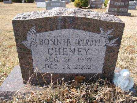CHENEY, BONNIE KIRBY - Union County, Ohio | BONNIE KIRBY CHENEY - Ohio Gravestone Photos
