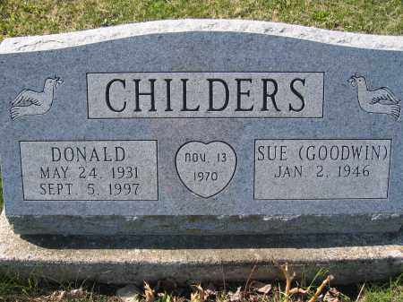 CHILDERS, DONALD - Union County, Ohio | DONALD CHILDERS - Ohio Gravestone Photos