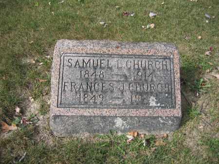 CHURCH, SAMUEL L. - Union County, Ohio | SAMUEL L. CHURCH - Ohio Gravestone Photos