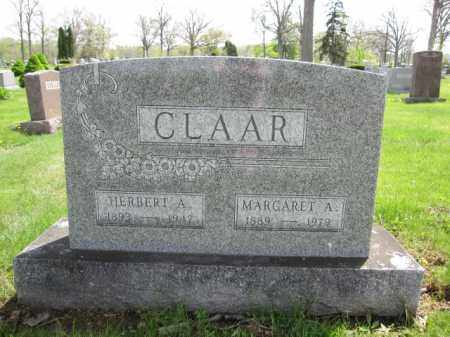 CLAAR, MARGARET A. CAREY - Union County, Ohio | MARGARET A. CAREY CLAAR - Ohio Gravestone Photos