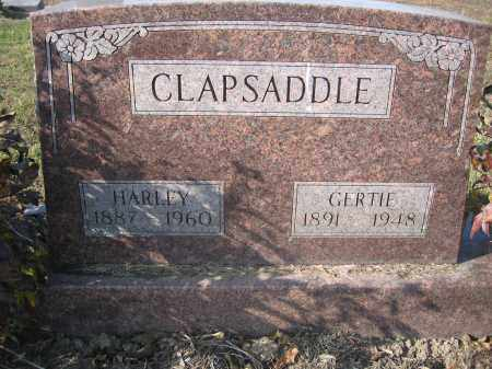 CLAPSADDLE, HARLEY - Union County, Ohio | HARLEY CLAPSADDLE - Ohio Gravestone Photos