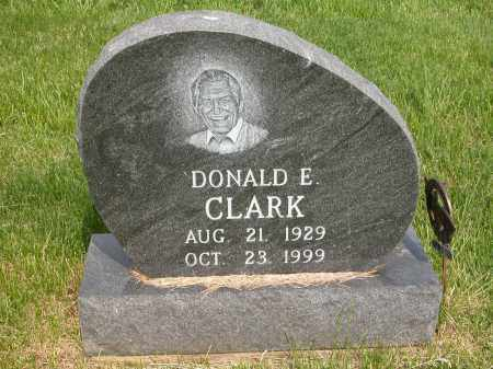CLARK, DONALD E. - Union County, Ohio | DONALD E. CLARK - Ohio Gravestone Photos