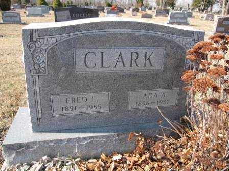 CLARK, ADA A. - Union County, Ohio | ADA A. CLARK - Ohio Gravestone Photos