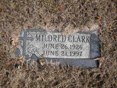 CLARK, MILDRED - Union County, Ohio | MILDRED CLARK - Ohio Gravestone Photos