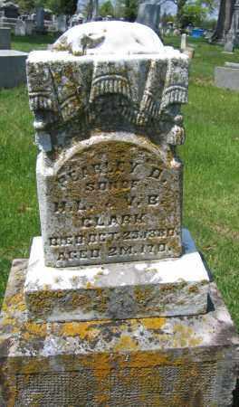 CLARK, PEARLEY D. - Union County, Ohio | PEARLEY D. CLARK - Ohio Gravestone Photos