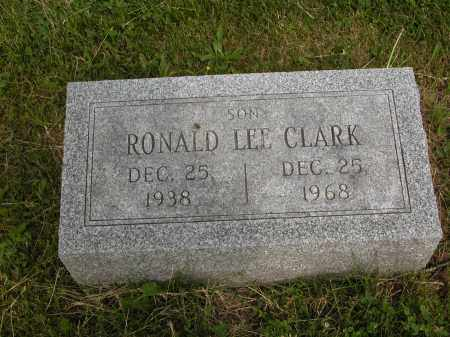 CLARK, RONALD LEE - Union County, Ohio | RONALD LEE CLARK - Ohio Gravestone Photos