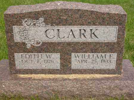 CLARK, WILLIAM E. - Union County, Ohio | WILLIAM E. CLARK - Ohio Gravestone Photos