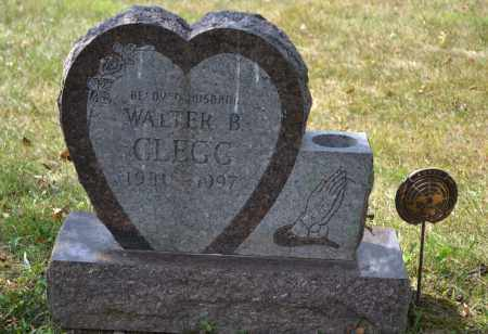 CLEGG, WALTER B. - Union County, Ohio | WALTER B. CLEGG - Ohio Gravestone Photos