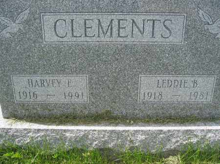 CLEMENTS, HARVEY E. - Union County, Ohio | HARVEY E. CLEMENTS - Ohio Gravestone Photos