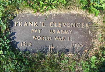 CLEVENGER, FRANK L. - Union County, Ohio | FRANK L. CLEVENGER - Ohio Gravestone Photos