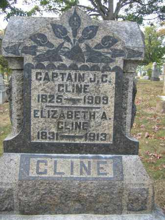 CLINE, ELIZABETH A. - Union County, Ohio | ELIZABETH A. CLINE - Ohio Gravestone Photos
