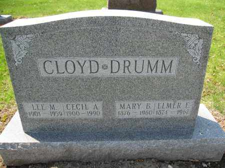DRUMM, MARY B. LEE - Union County, Ohio | MARY B. LEE DRUMM - Ohio Gravestone Photos
