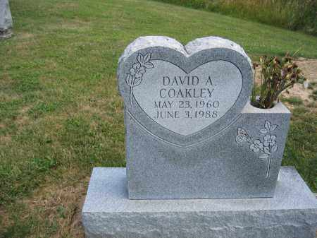 COAKLEY, DAVID A. - Union County, Ohio | DAVID A. COAKLEY - Ohio Gravestone Photos
