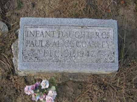 COAKLEY, INFANT DAUGHTER - Union County, Ohio   INFANT DAUGHTER COAKLEY - Ohio Gravestone Photos