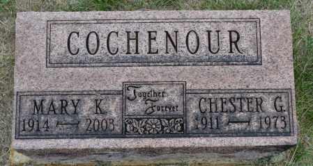 COCHENOUR, MARY K. - Union County, Ohio | MARY K. COCHENOUR - Ohio Gravestone Photos